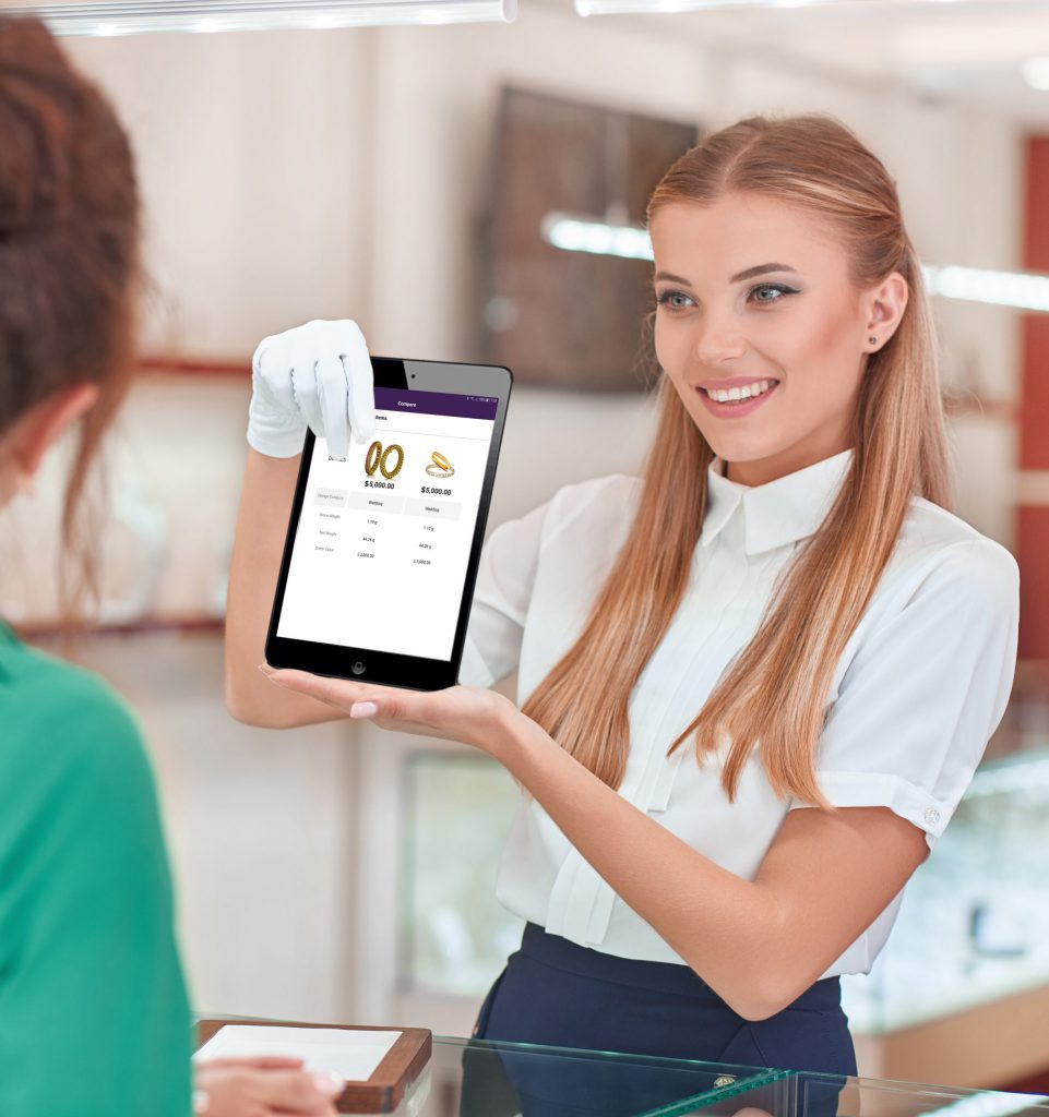 store tablet scaled rfid
